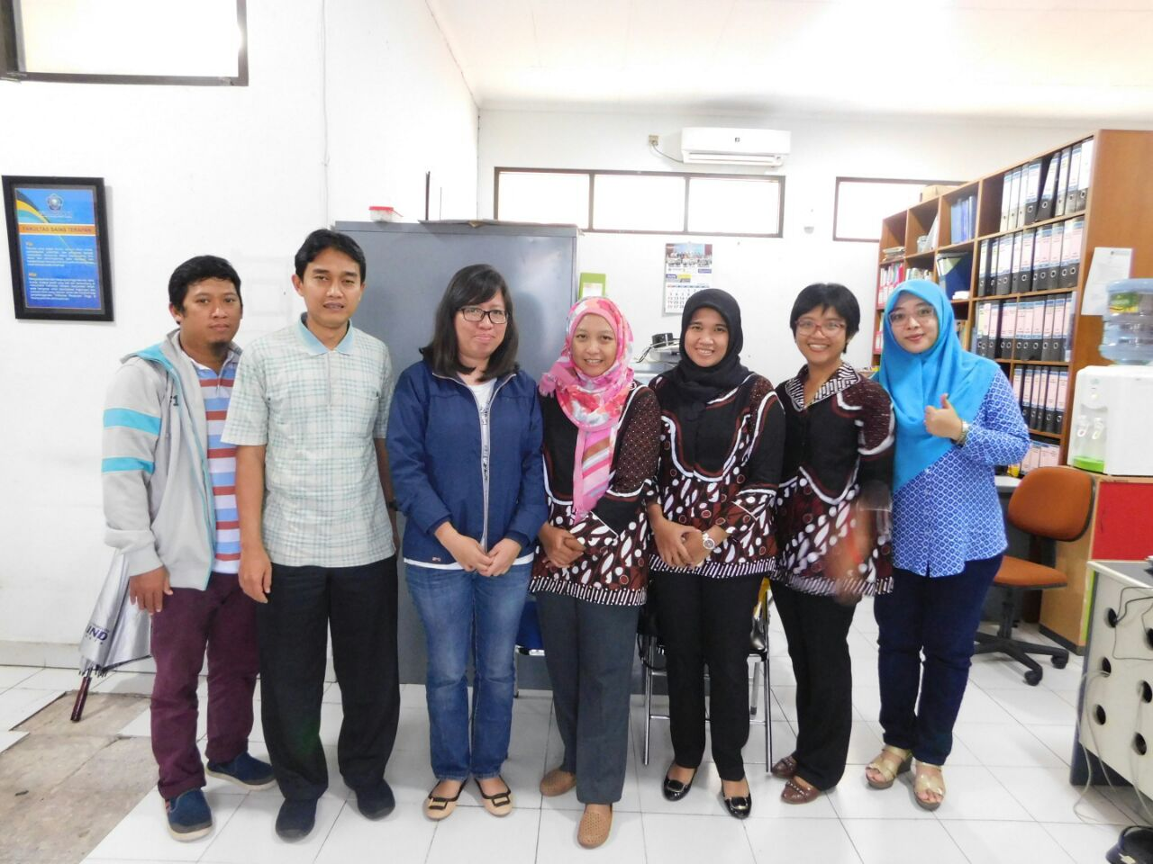 Kunjungan dari Program Studi Matematika-Statistika Universitas Bina Nusantara Jakarta