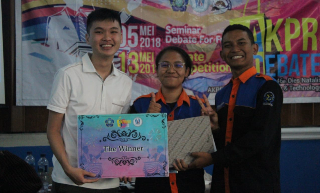 Juara Debate For Fun 2018