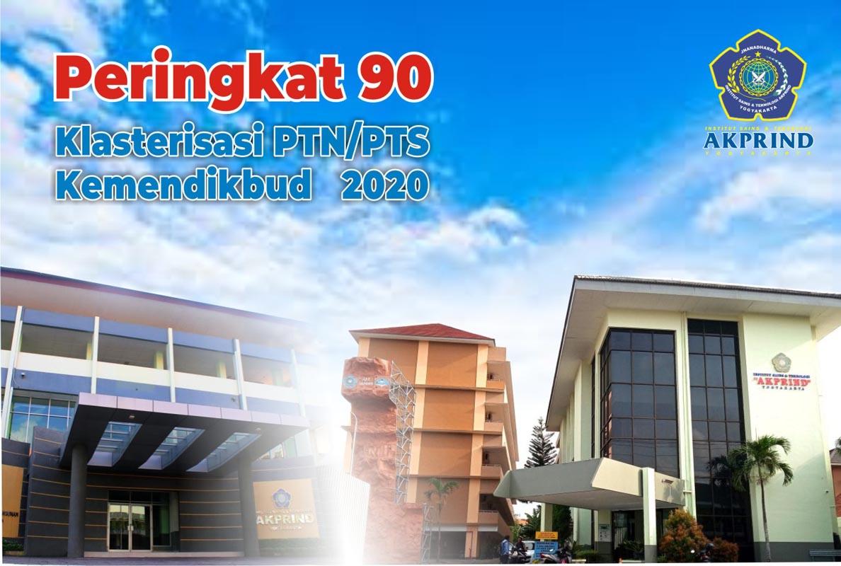 IST AKPRIND Peringkat 90 dari 2.136 PTN/PTS se Indonesia