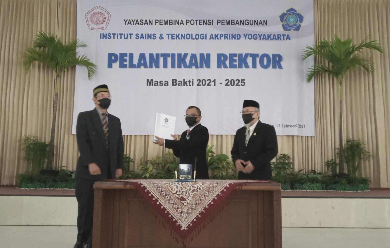 Dr. Edhy Sutanta, S.T., M.Kom., Rektor Baru IST AKPRIND