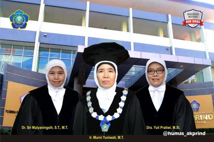Selamat kepada Ibu  Ir. Yuli Pratiwi, M.Si. sebagai Dekan Fakultas Sains Terapan Periode 2021-2025