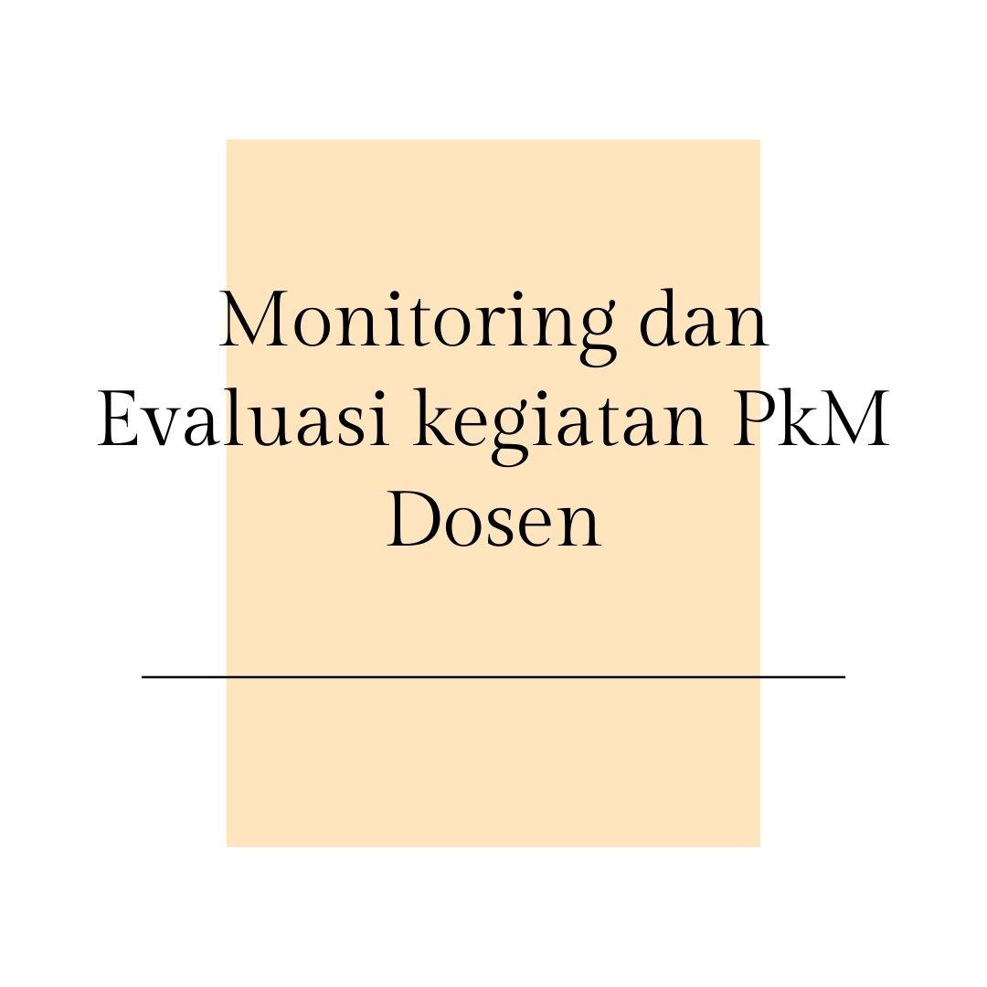 Monitoring dan Evaluasi kegiatan Dosen Program Pengelolaan Sampah di Malangan Kota Yogyakarta